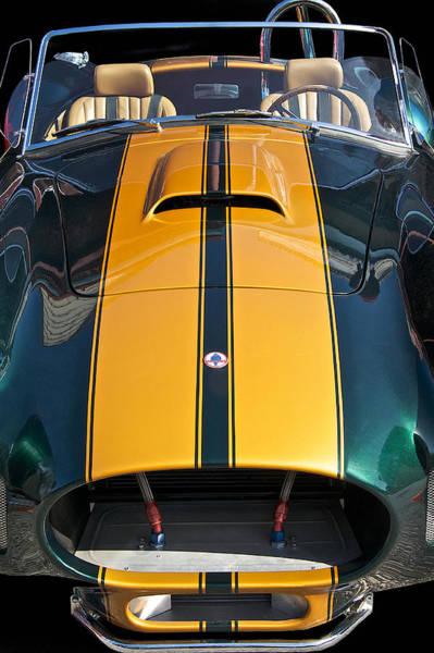 Wall Art - Photograph - Shelby Cobra 'by A Nose' by Dave Koontz