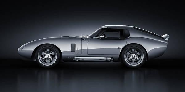 3d Render Digital Art - Shelby Daytona - Bullet by Marc Orphanos