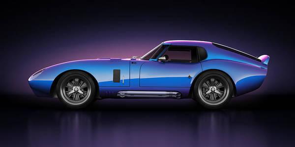 Wall Art - Digital Art - Shelby Daytona - Velocity by Marc Orphanos