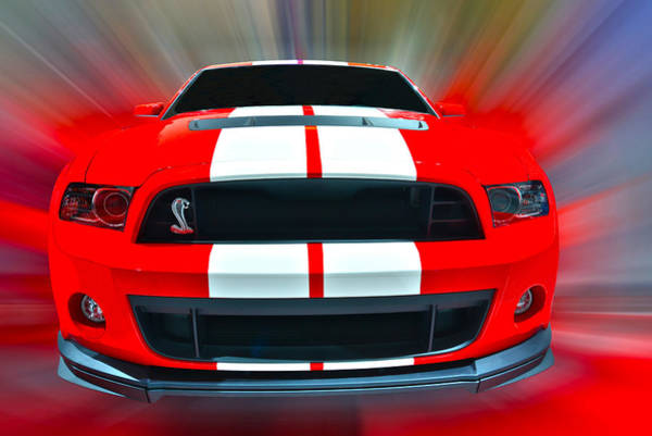 Photograph - Shelby Gt 500  2013 by Dragan Kudjerski