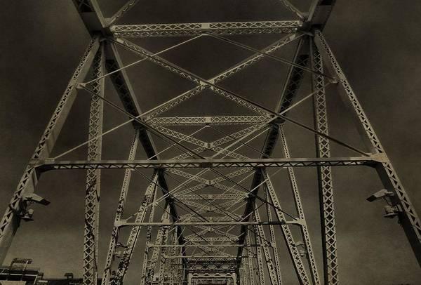 Photograph - Shelby Street Bridge Details Nashville by Dan Sproul