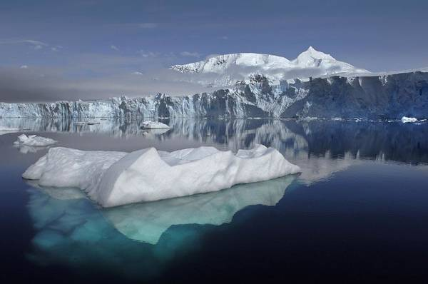 Photograph - Sheldon Glacier by Movie Poster Prints