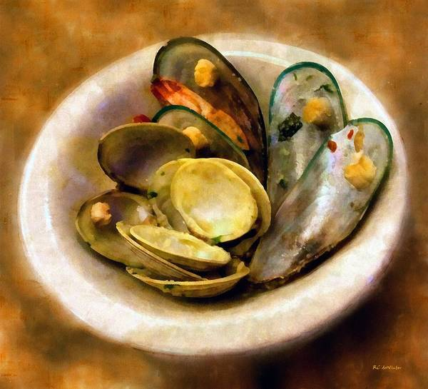 Painting - Shell Game by RC DeWinter