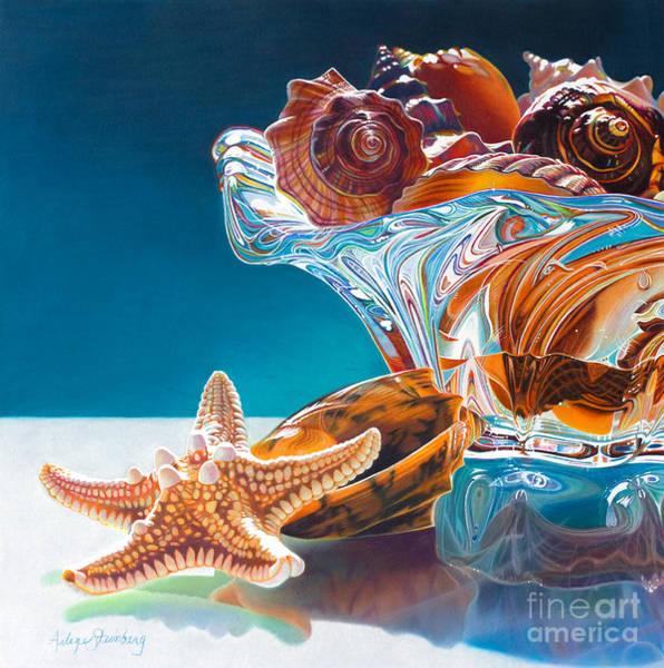 Shell Shocked Art Print by Arlene Steinberg