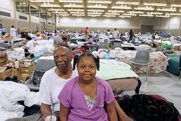 Katrina Wall Art - Photograph - Shelter For Hurricane Katrina Survivors by Jim West