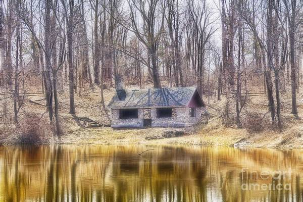 Photograph - Shelter On The Lake by Jim Lepard