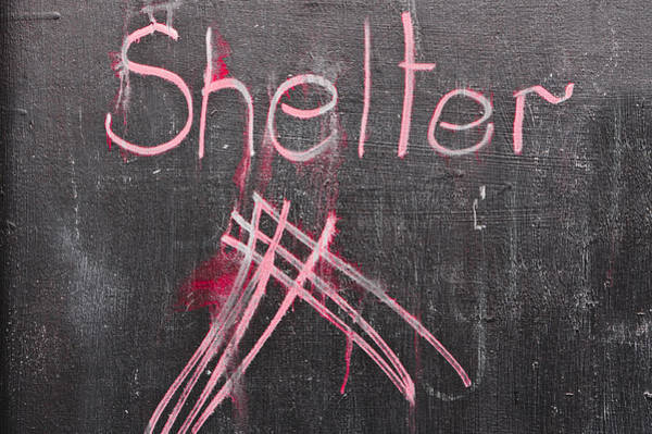 Kindergarten Photograph - Shelter by Tom Gowanlock