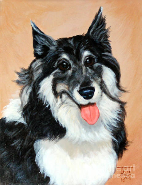 Painting - Sheltie by Art By - Ti   Tolpo Bader