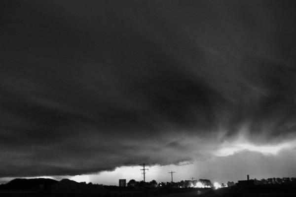 Photograph - Shelton Nebraska Thunderstorm by NebraskaSC