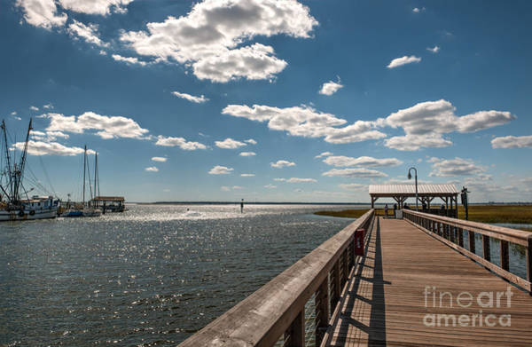 Photograph - Shem Creek Pavilion  by Dale Powell