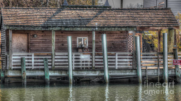 Photograph - Shem Creek Shack by Dale Powell