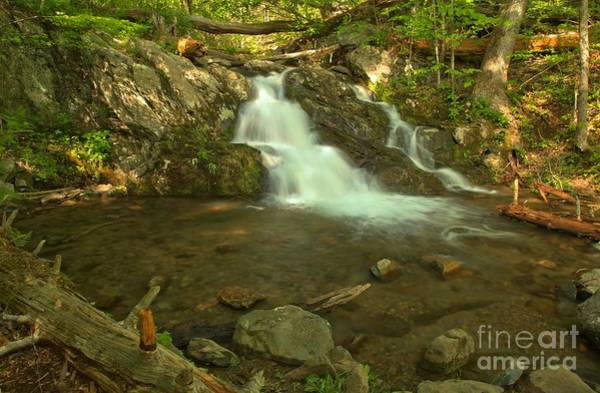 Photograph - Shenandoah Upper Doyles River Falls by Adam Jewell