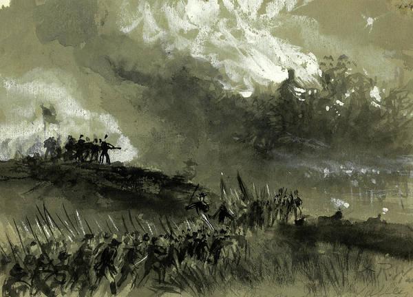 Wall Art - Drawing - Shenandoah Valley, Sept. 1864, 1864 September by Quint Lox
