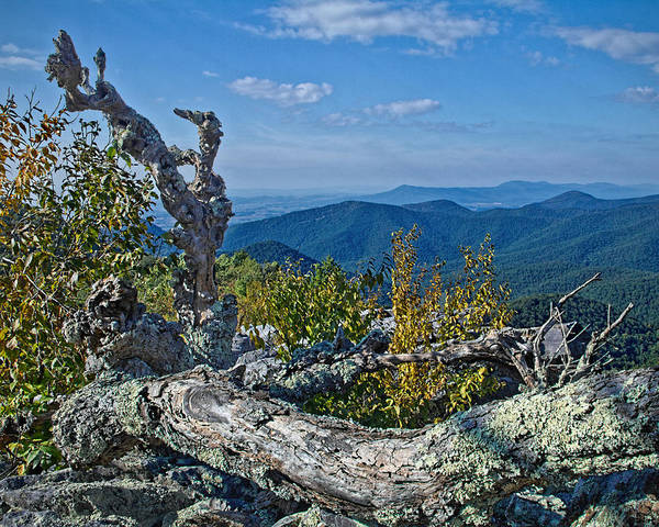 Photograph - Shenandoah Vista by Jemmy Archer