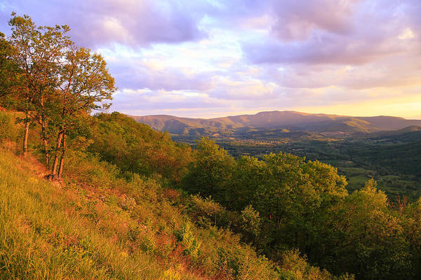 Photograph - Shenandoah's Golden Hour  by Rachel Cohen