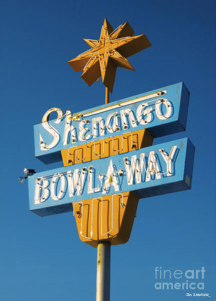 50s Wall Art - Digital Art - Shenango Bowl-a-way by Jim Zahniser