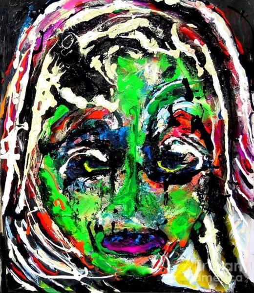 Sax Painting - Shepherd by Darlyne Sax