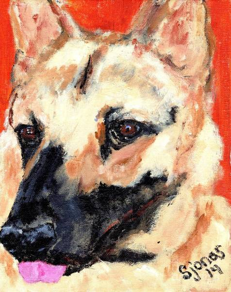Painting - Shepherd by Shelley Jones