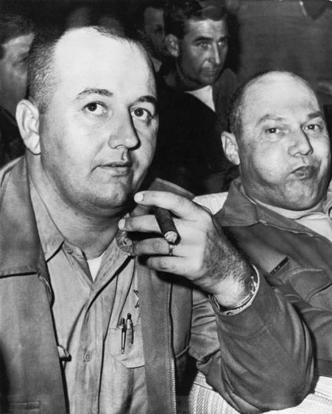 Cigar Photograph - Sheriffs Arraigned For Murder by Underwood Archives