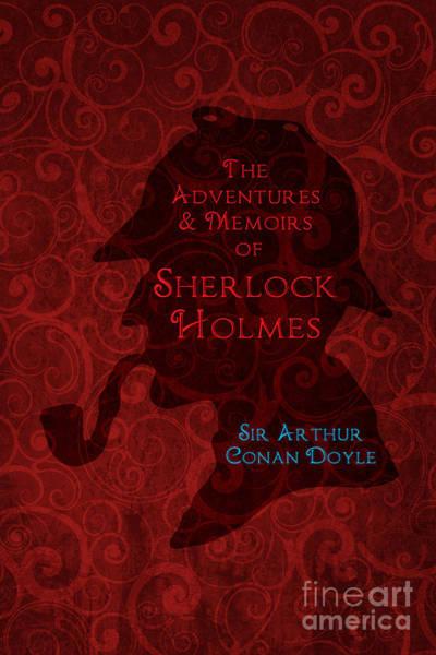 Suspense Digital Art - Sherlock Holmes Book Cover Poster Art 4 by Nishanth Gopinathan