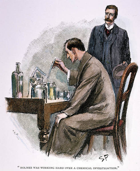 Drawing - Sherlock Holmes by Granger