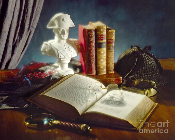 Photograph - Sherlock Holmes Napoleon by Martin Konopacki