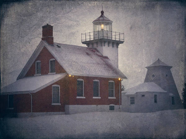 Sherwood Point Light Art Print