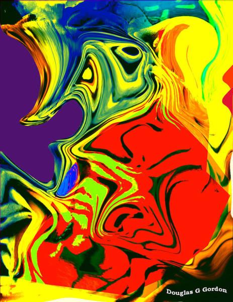 Boobies Digital Art - She's A Little Different Than I Remembered by Douglas G Gordon