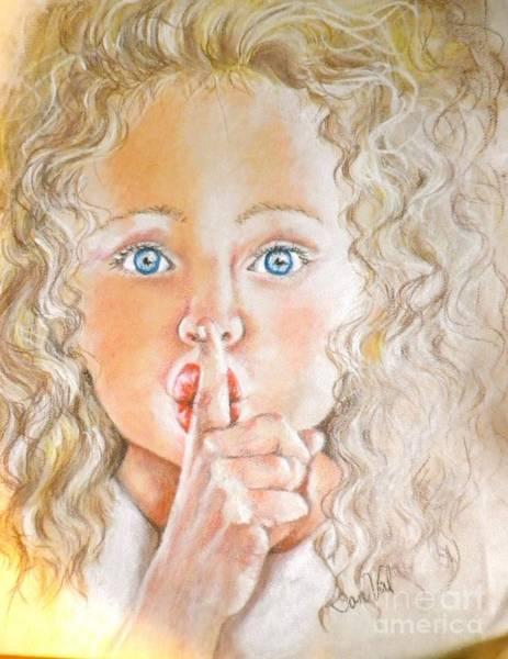 Wall Art - Pastel - Shhhh by Sandra Valentini