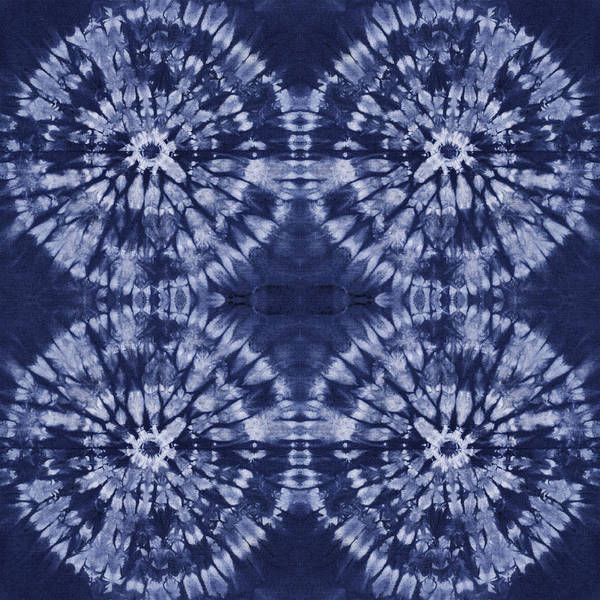 Aimee Stewart Wall Art - Painting - Shibori 8 by MGL Meiklejohn Graphics Licensing