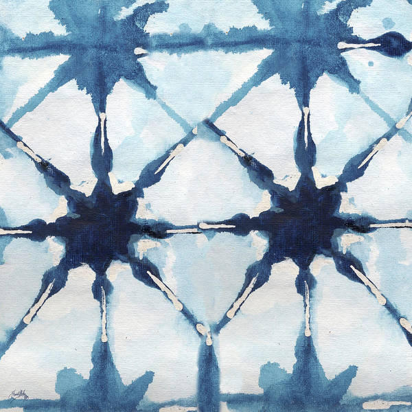 Boho Wall Art - Digital Art - Shibori II by Elizabeth Medley