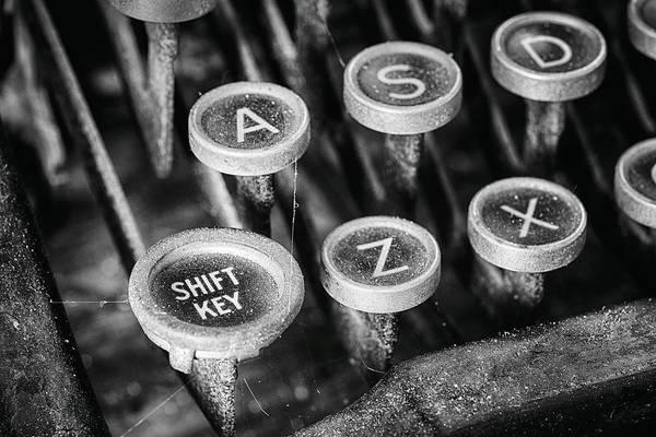 Photograph - Shift Key by Denise Bush
