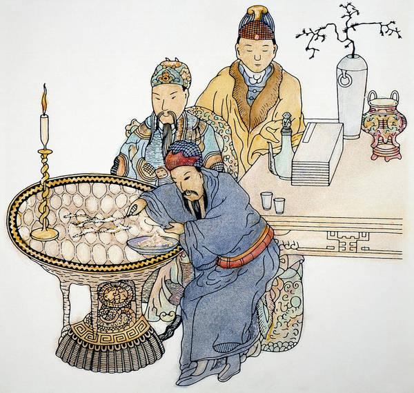 Drawing - Shih Huang Ti/great Wall by Granger