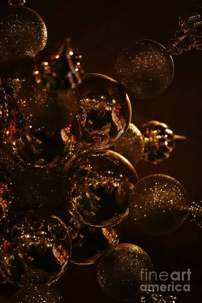 Photograph - Shimmer In Gold by Linda Shafer
