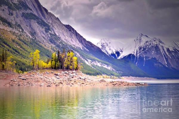 Photograph - Shimmering Water At Medicine Lake by Tara Turner