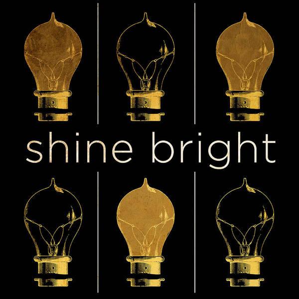 Illuminated Digital Art - Shine And Illuminate I by South Social Studio