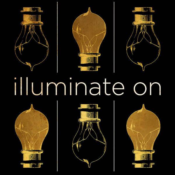 Illuminated Digital Art - Shine And Illuminate II by South Social Studio