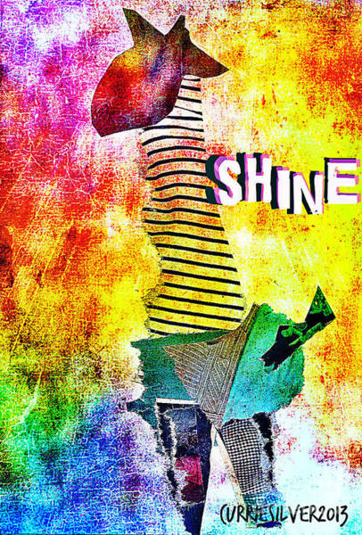 Shine Art Print by Currie Silver