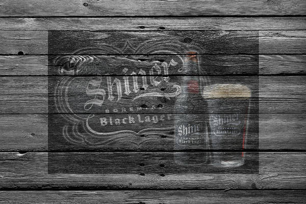 Black Ice Photograph - Shiner Black Lager by Joe Hamilton
