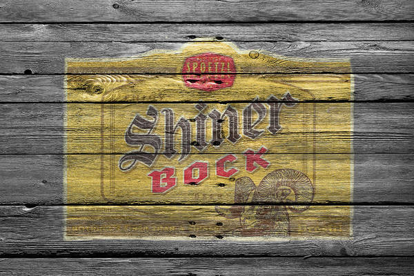 Hop Photograph - Shiner Bock by Joe Hamilton