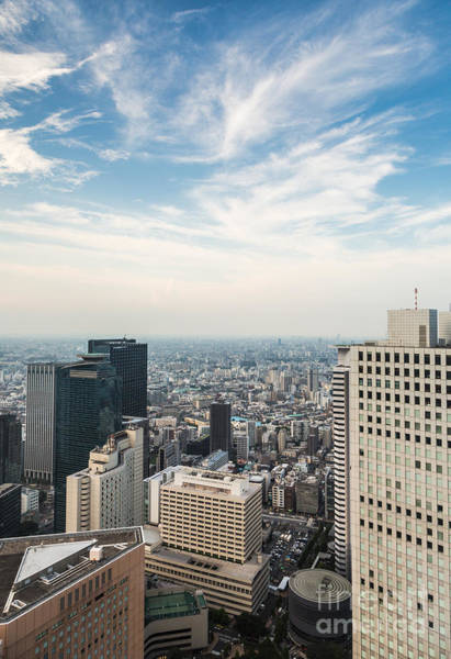 Photograph - Shinjuku Skyline In Tokyo by Didier Marti