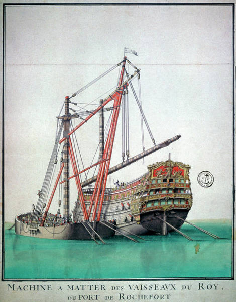 Wall Art - Photograph - Ship Building by Cci Archives/science Photo Library