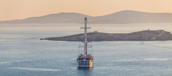 Photograph - Ship In The Bay by Deimagine