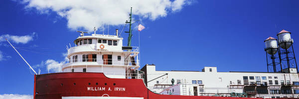 Freighter Photograph - Ship Museum At A Harbor, William A by Panoramic Images