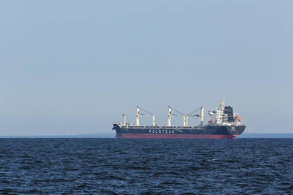 Wall Art - Photograph - Ship On Lake Superior 5 by John Brueske
