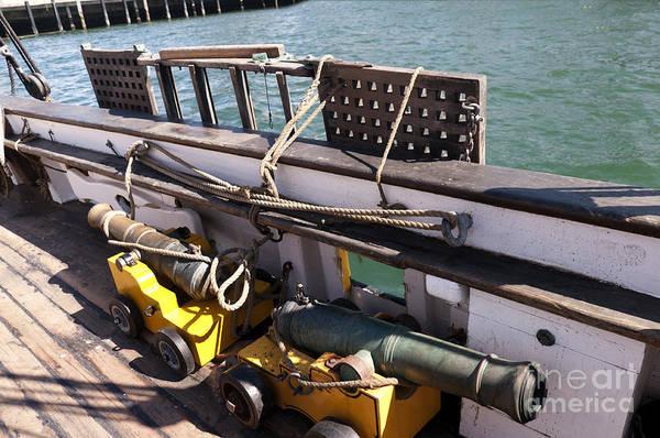 Photograph - Shipboard Cannons by Brenda Kean