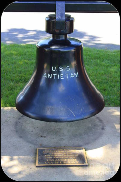 Photograph - Antietam Ship Bell by Patti Whitten