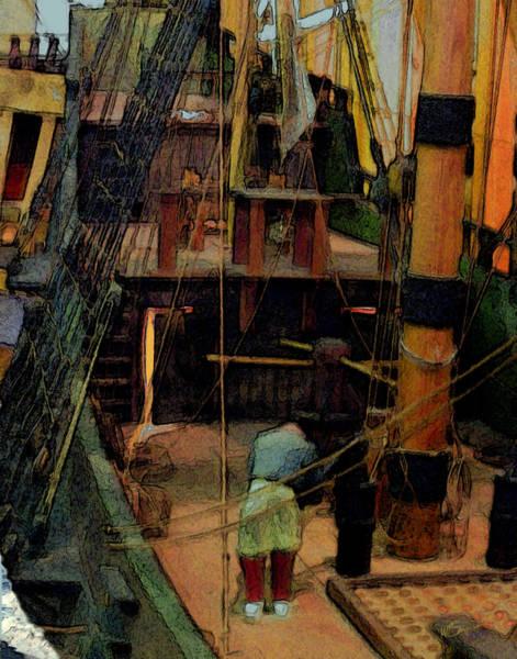 Digital Art - Ship's Carpenter by William Sargent