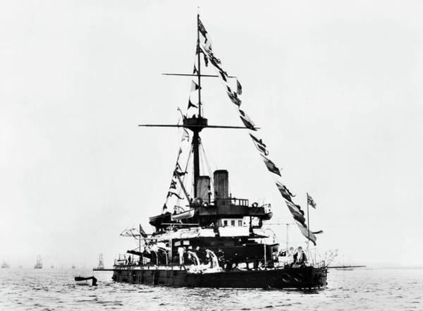 Photograph - Ships Hms 'devastation by Granger