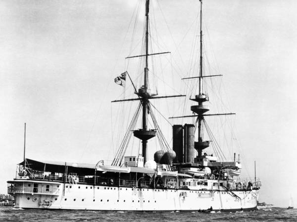 Photograph - Ships Hms 'renown,' 1905 by Granger